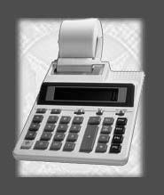 a printing calculator - still a useful tool in accountancy